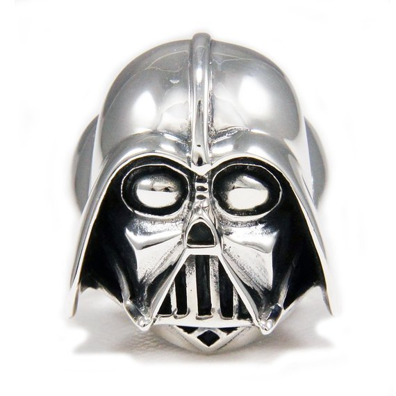 4a5e461f1 Darth Vader/Star Wars/dark force/Jedi/925 Sterling Silver Ring/Darth ...