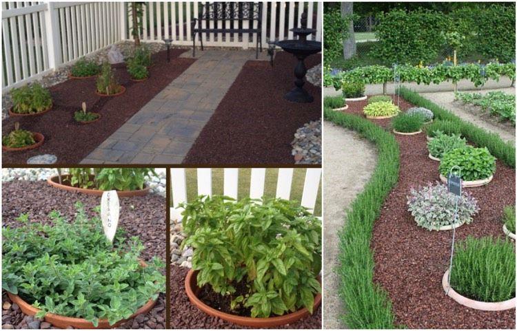 mulch und kies sind bei der gartengestaltung mit wenig geld sehr, Garten Ideen