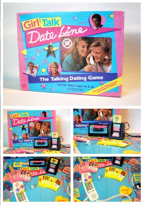 Teen talk date line! I always wanted this game