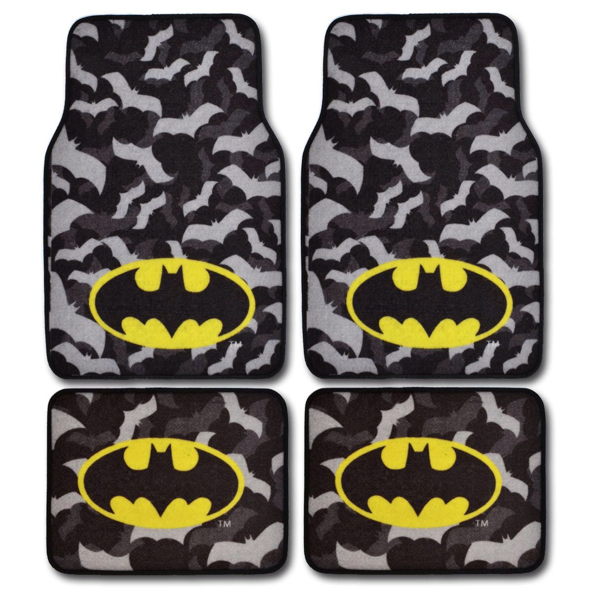 Batman Car Floor Mats