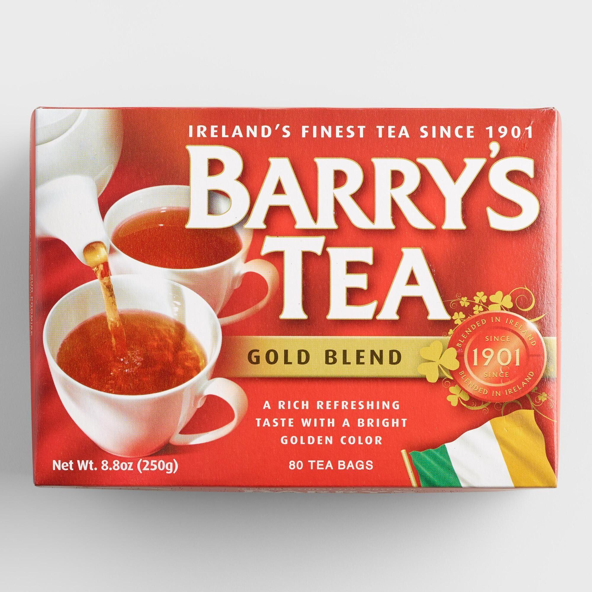 Barry S Gold Blend Tea Set Of 6 By World Market Barry S Tea Irish Tea Breakfast Tea