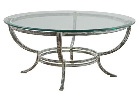 Artistica Metal Designs Andress Round Cocktail Table 455 240