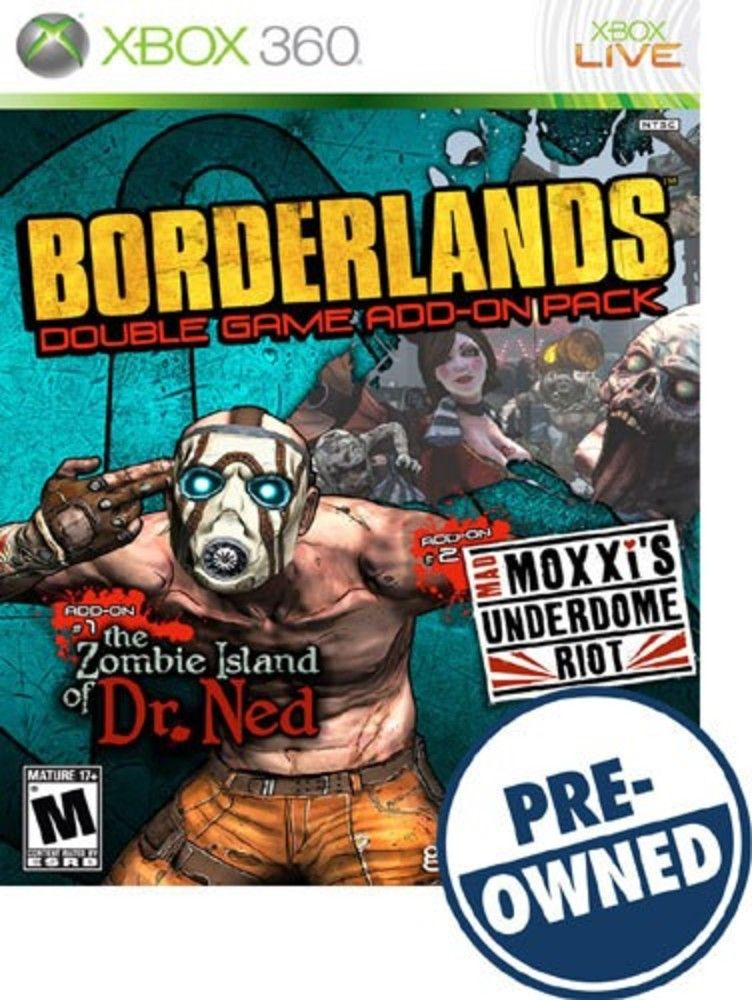 Borderlands Zombie Island of Dr  Ned/Mad Moxxi's Underdome