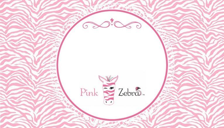 Free Pink Zebra Business Card Templates Pink Zebra Pinterest
