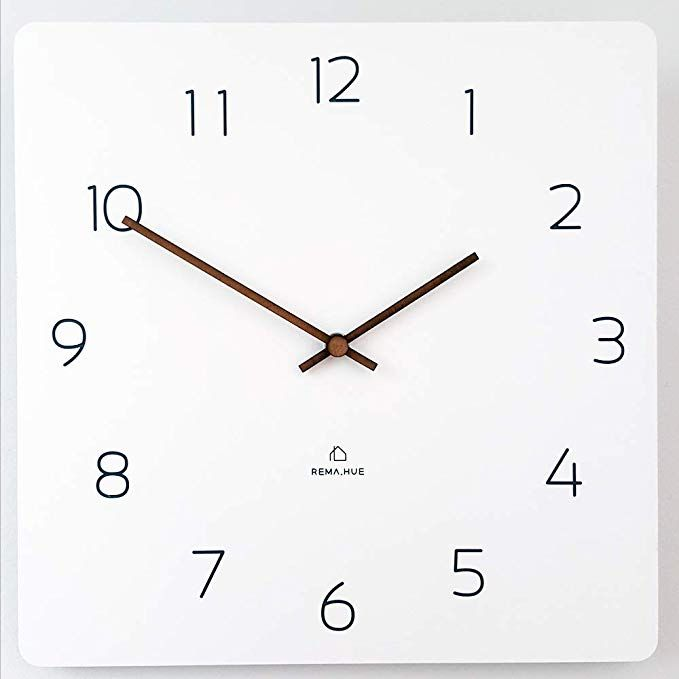 Rema House Modern Square Wall Clock Silent Wall Clock Silent Square Wall Clock Wall Clock