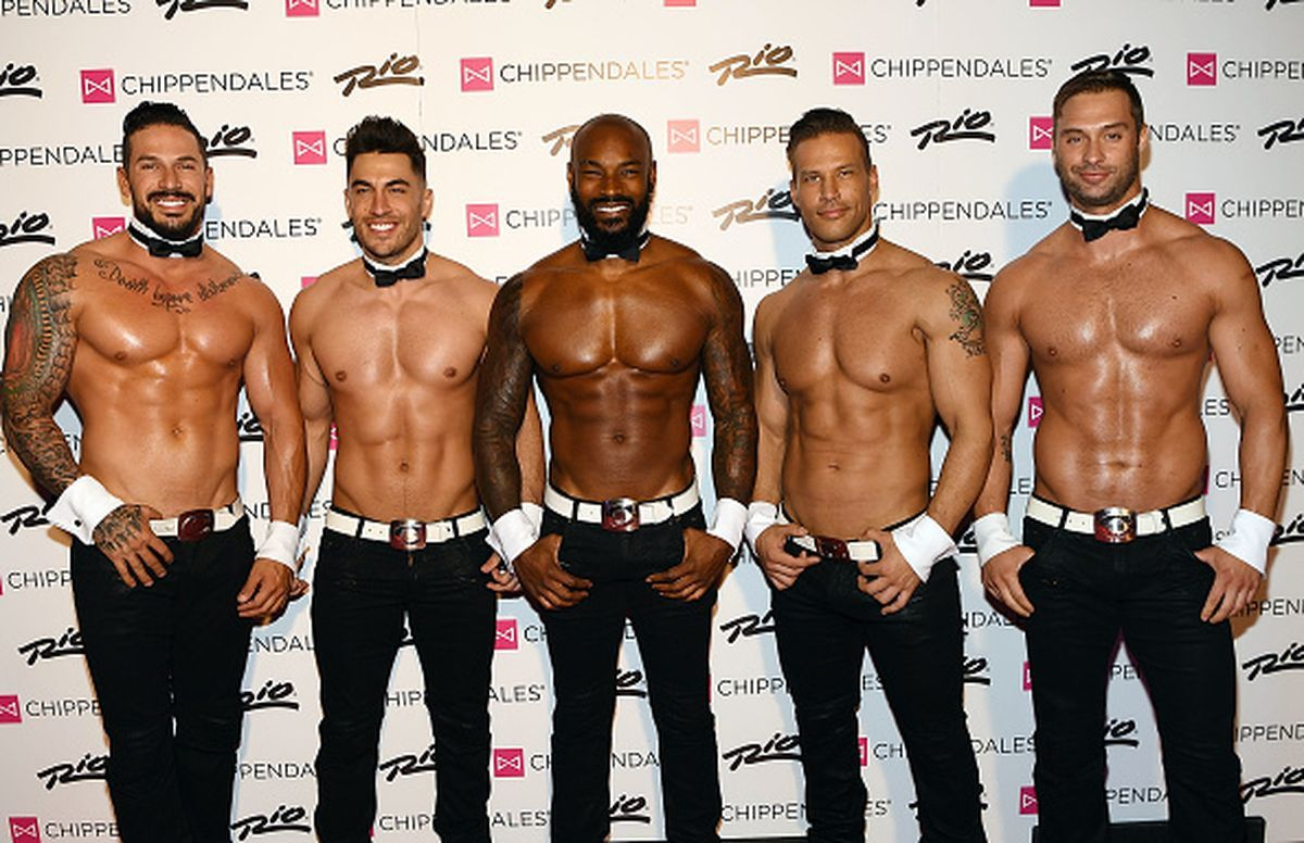Model Tyson Beckford Begins Celebrity Guest Host In Residency With The Chippendales At The Rio In Las Vegas Chippendales Tyson Beckford Zoolander