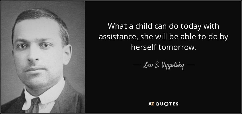TOP 25 QUOTES BY LEV S. VYGOTSKY Education quotes