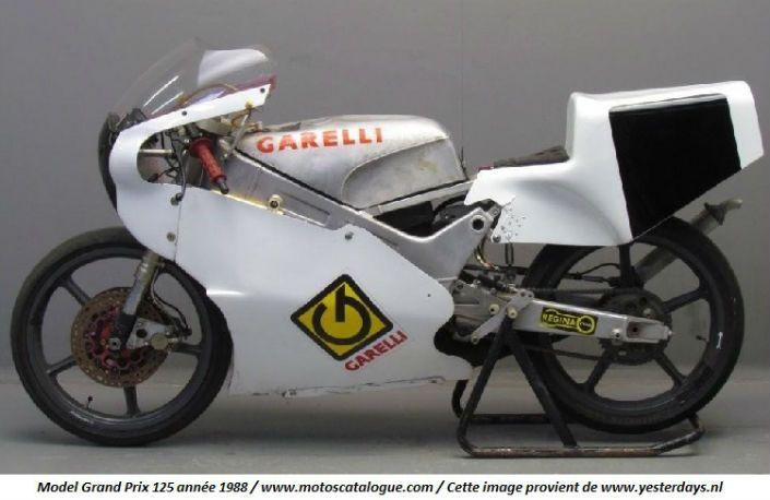 1988 Garelli (Italy) Model: Grand Prix 125cc