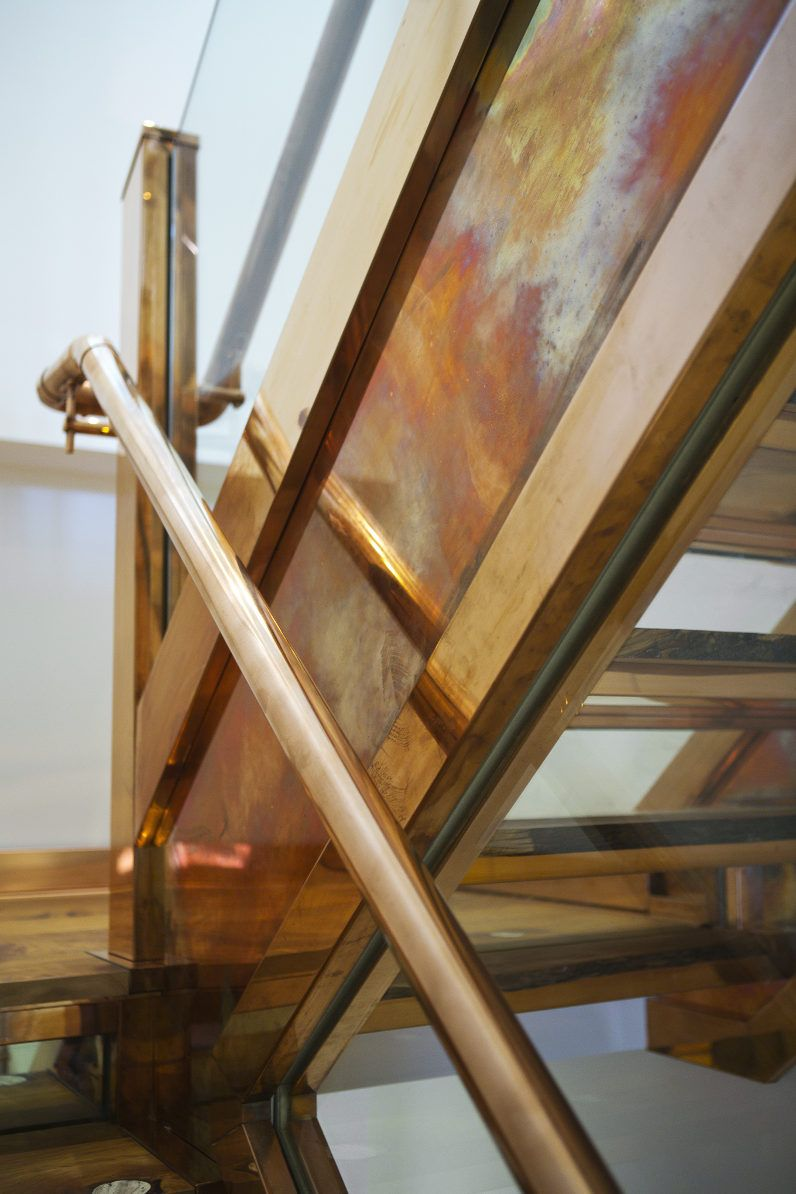 Best Gorgeous Copper Staircase By Katharine Pooley Heat 400 x 300