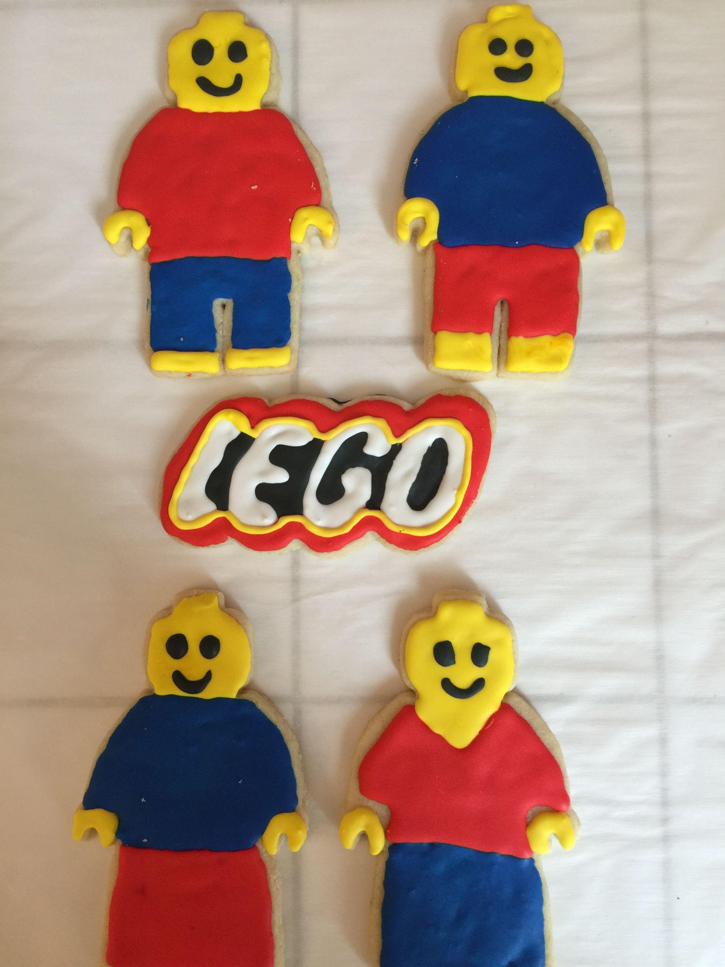 Lego cookies lego cookies lego party homemade cookies