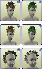 Mod The Sims - Plantsim Leaves Hairs Unlocked