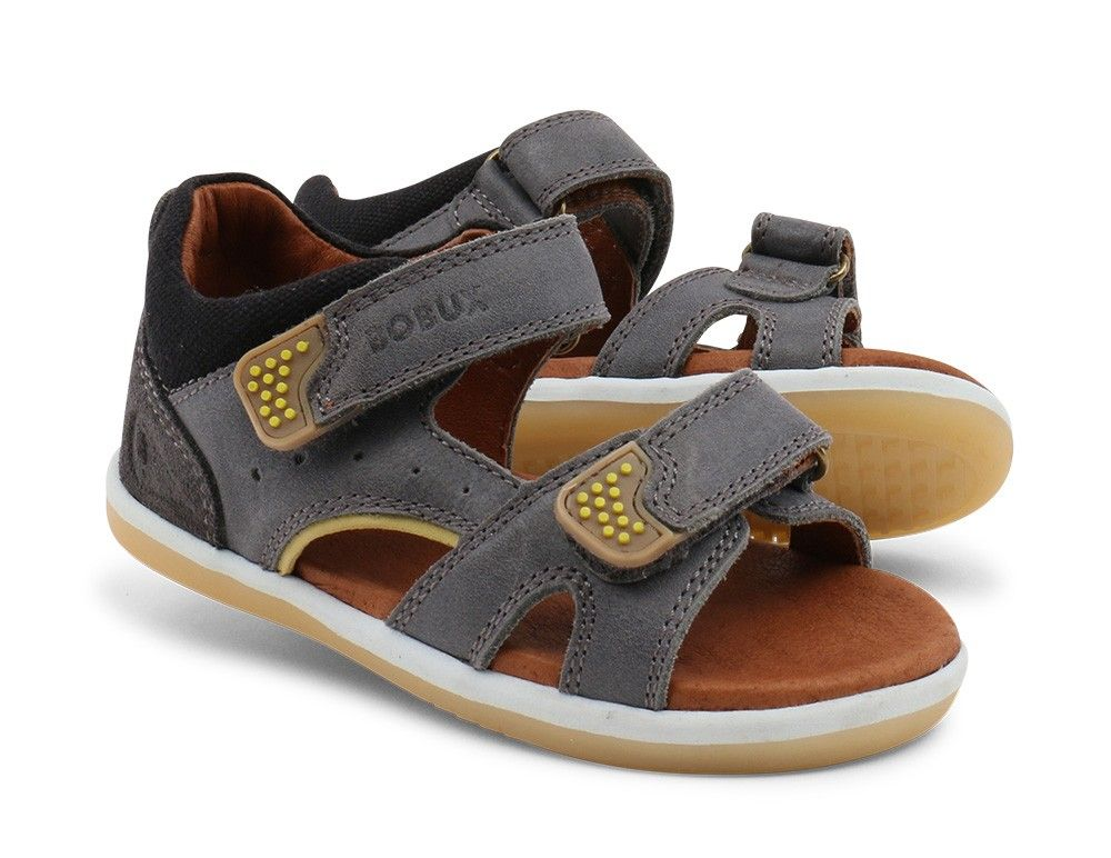 Bobux Sandal Boy's Toddler Wave And Iwalk Caramel Preschool OuPwXZiTk