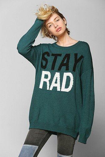 Sparkle Fade Stay Rad Sweater @Niki Kinney Radovich | c l ...