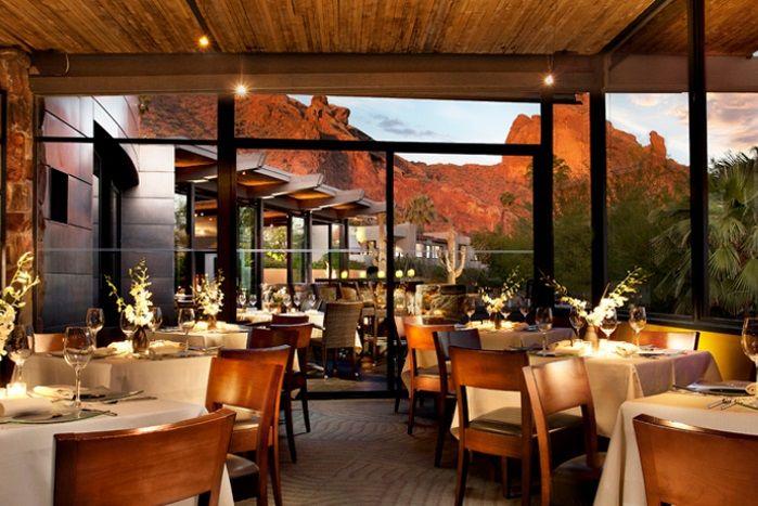 Elements Restaurants With Beautiful View In Scottsdale Arizona