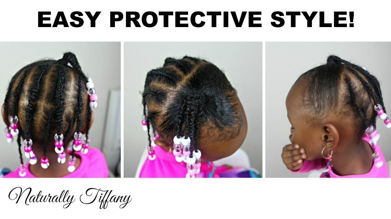 Easy Protective Style Kids Hairstyles Natural Hair Styles