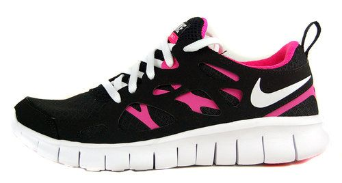 competitive price 2ded7 22ac5 Nike Free Run 2.0 (Gs) Girls Sz 5 Womens 6.5 Running Shoes ...