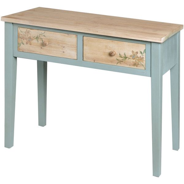 Hill Interiors Le Jardin 2 Drawers Console Table ($215) ❤ liked on ...