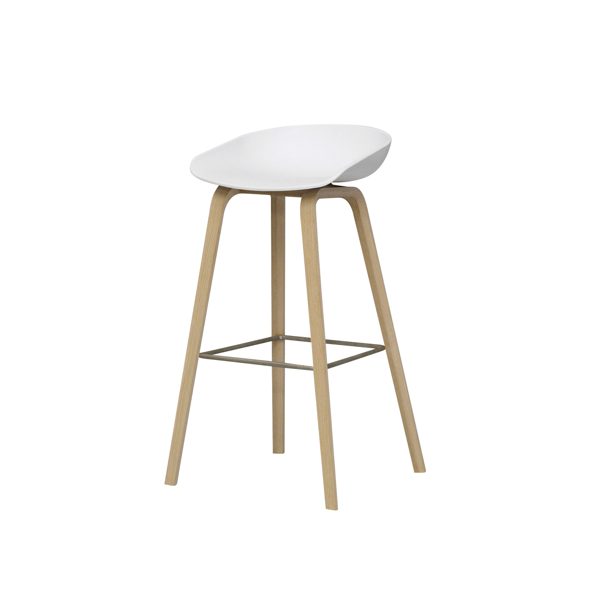 White And Wood Stools  Google Search