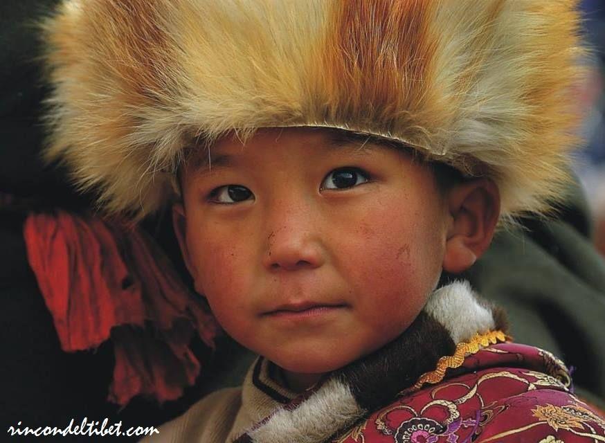 Niño tibetano.