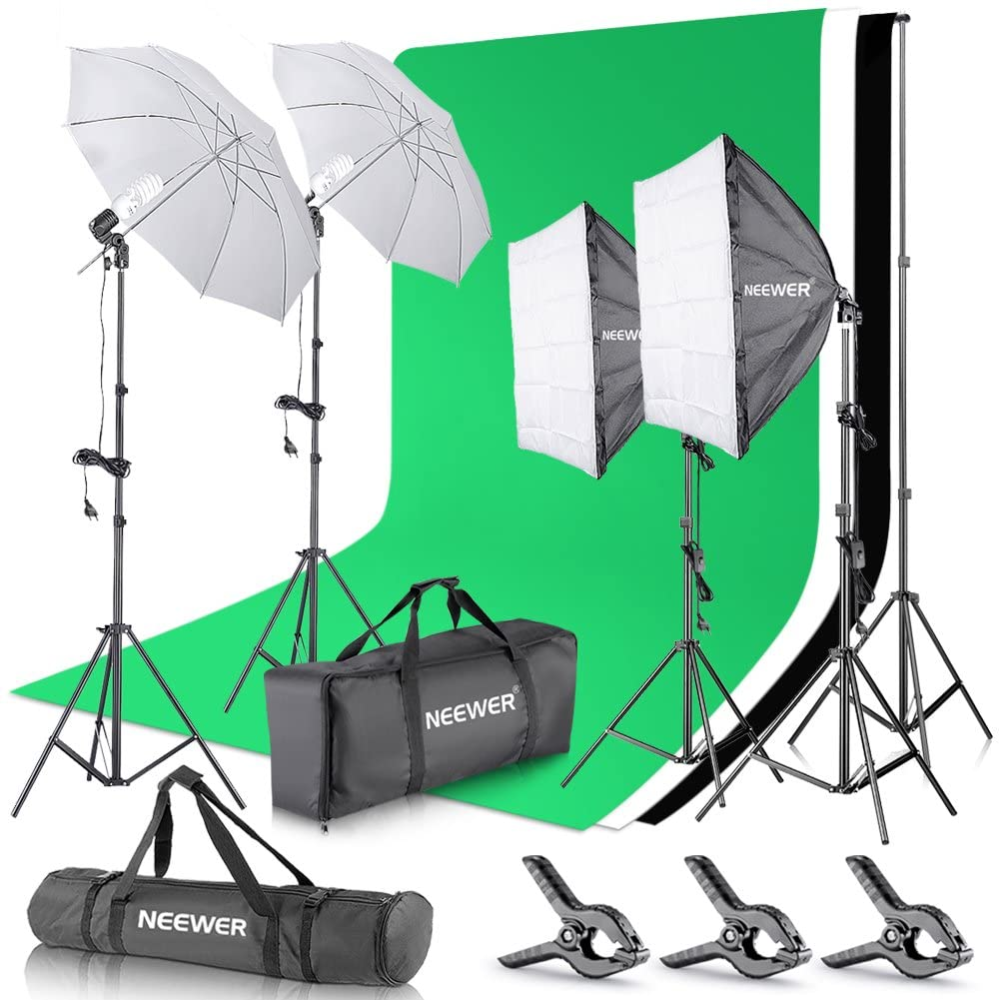 neewer 600w pro photographie kit d