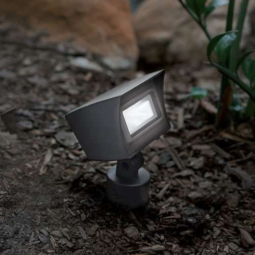 Led 120v Floodlight Outdoor Path Lighting Wac Lighting Outdoor Lighting