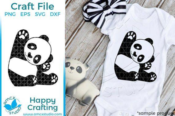 Baby Panda Animal SVG #babypandas