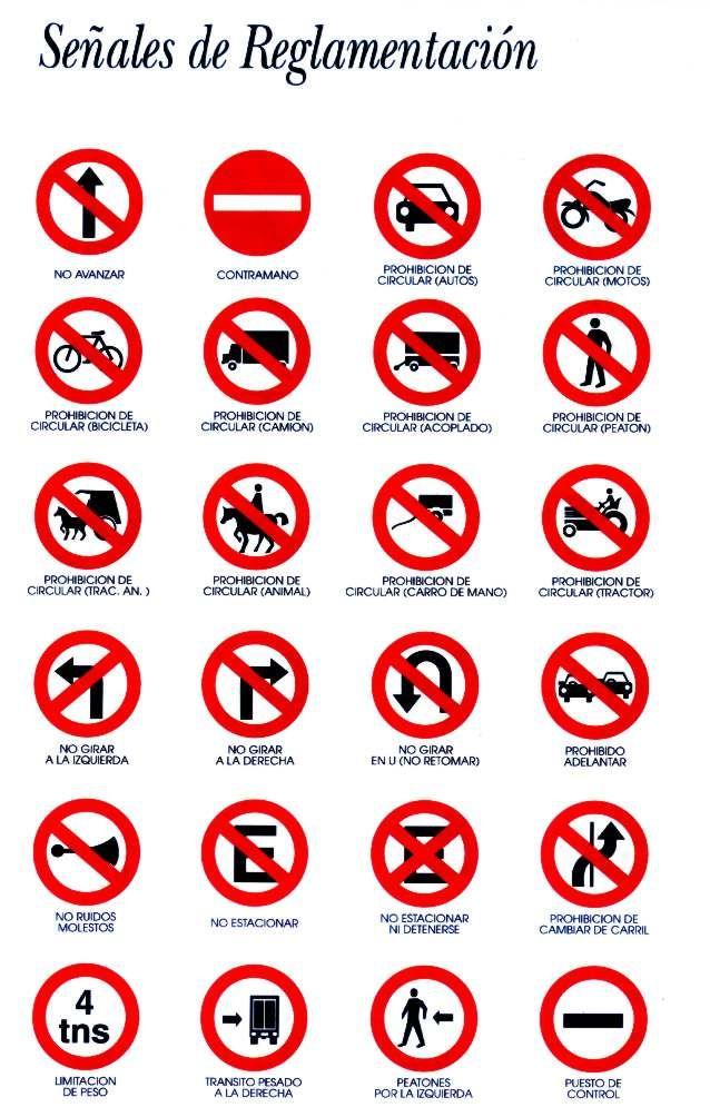 Las Señales De Transito Señales Viales Iconos Indicaciones Viales Señales De Transito Consejos De Seguridad Vial Simbolos De Transito