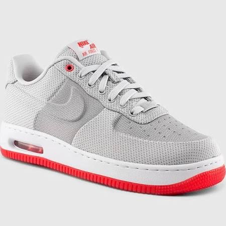 Nike Air Force 1 (AF1) Elite Knit Jacquard VT (Wolf Grey
