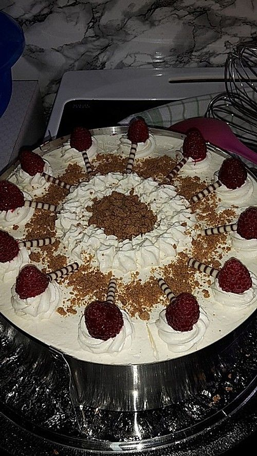 Himbeer Spekulatius Torte Backen Spekulatius Kuchen Und Backen