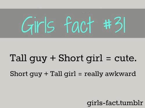 Facts about dating tall guys