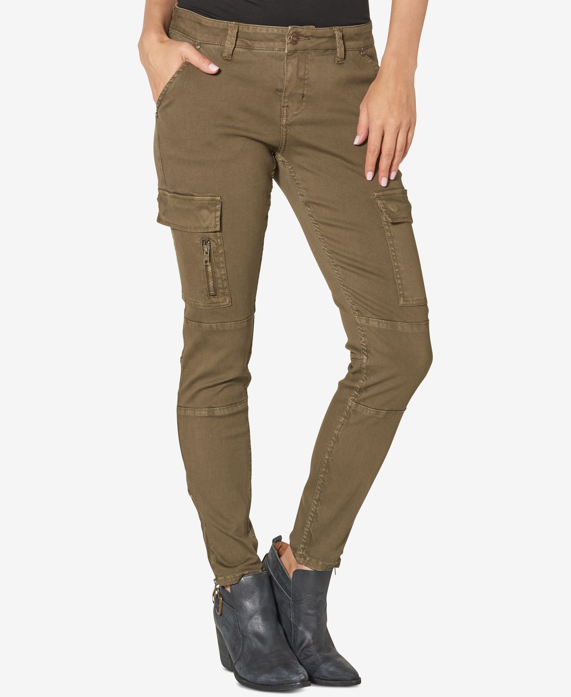 62f305b5 Silver Jeans Co. Cargo Black Wash Skinny Jeans | Products | Silver ...