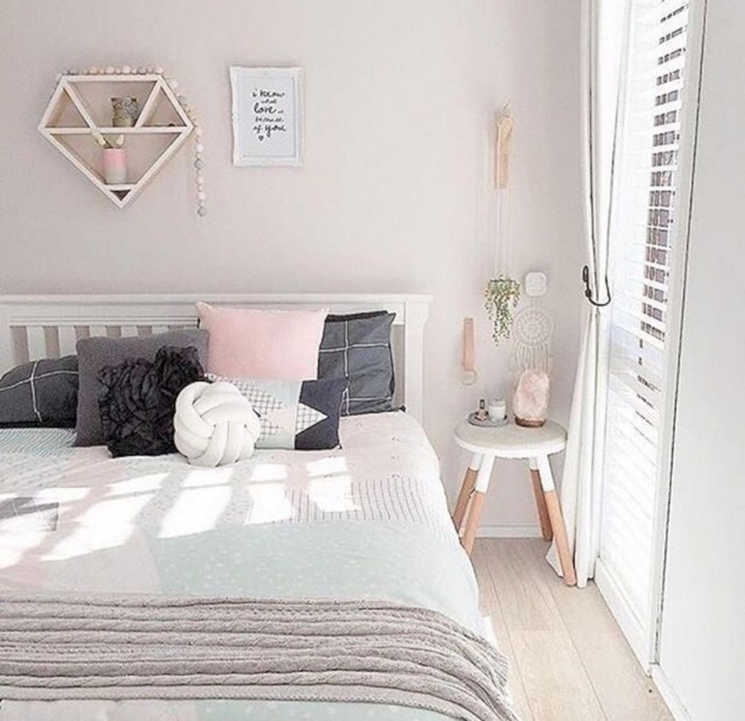 Cool Room Designs All White: 33+ Awesome White And Pastel Bedroom Design Ideas To Sleep