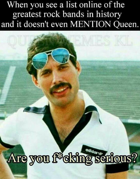QUEEN MEMES - Freddie Mercury #freddiemercuryquotes