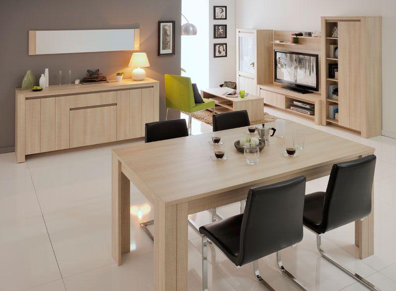 #Salon Lana ambiente #roble. #Interiorismo.