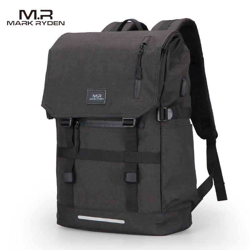 Photo of US $31.48 47% OFF|Mark Ryden Large Capacity 15.6 Inch Laptop Bag Man USB Design Backpack Bag Black Backpack women School Bags Mochila Masculina|mochila masculina|bag mochilabackpack designer – AliExpress
