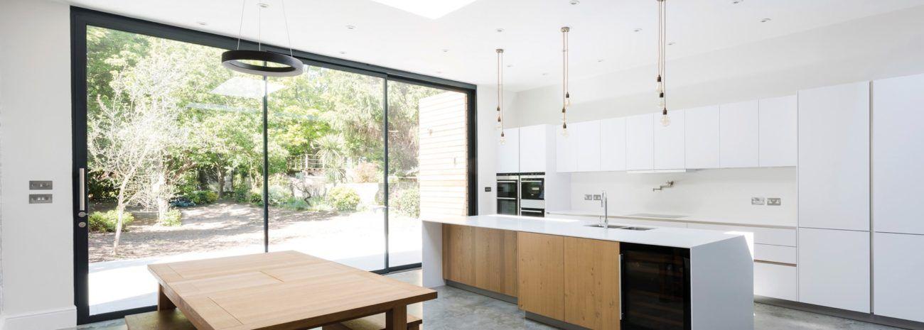 Theedge2 Ultra Slim Sliding Door With 20mm Slightlines Idsystems Sliding Doors Sliding Glass Door Roof Light