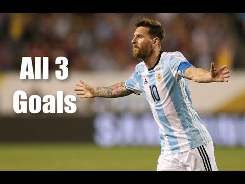 Lionel Messi Hat-trick vs Panama - Argentina vs Panama 5-0 Copa America Centenario 2016 HD - YouTube