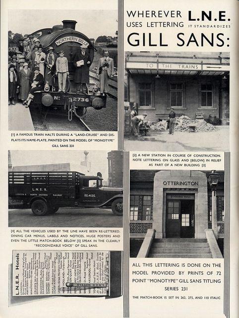 Monotype Recorder Winter 1933 Lner Gill Sans Flickr Photo Sharing San Typographic Design British Art