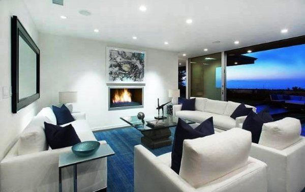 Bruno mars beautiful house interior design and style in la The most beautiful interior design house