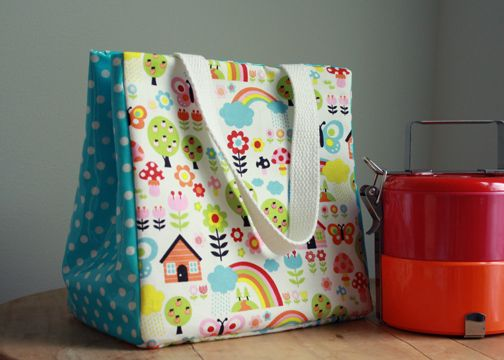 bf3284a73491 DIY Lunch Bags: 10 Cute, Simple, and Free Tutorials to Make Your Own ...