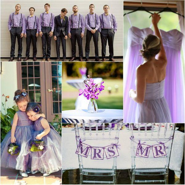 Trendy Bridesmaid Styles Lilac Dresses For Purple Weddings