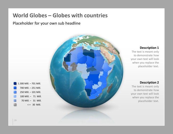 Powerpoint Maps Presentationload Powerpoint Map World Globes