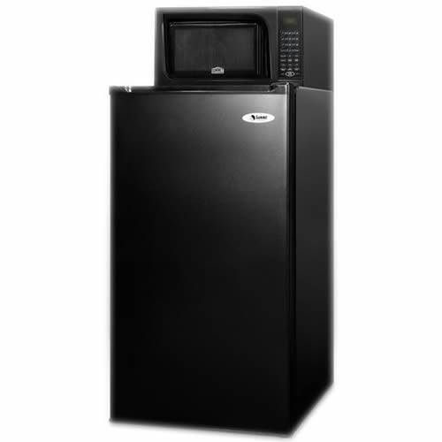 Summit 19-Inch 3.9 Cu. Ft. Refrigerator-Freezer Microwave Combo