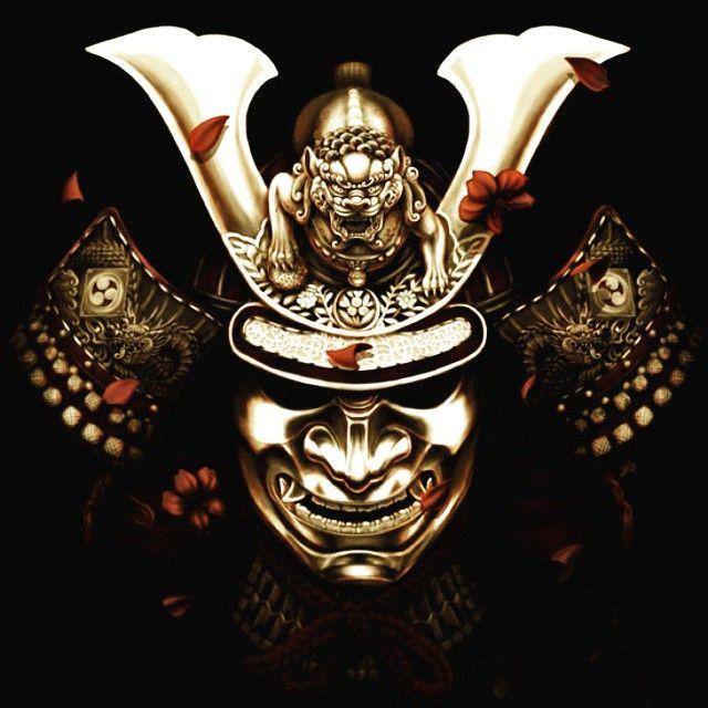 demon samourai guerrier masque casque armure asie japon japon ii kokeshi paysage. Black Bedroom Furniture Sets. Home Design Ideas