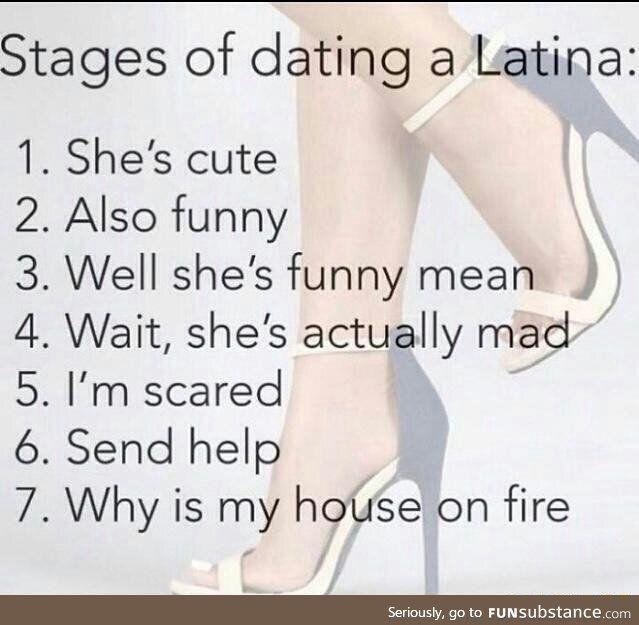 Dating a latina is like meme machine