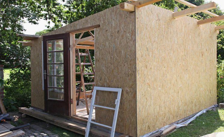 Gartenhaus selber bauen, Backyardplantsdesignsmallspaces