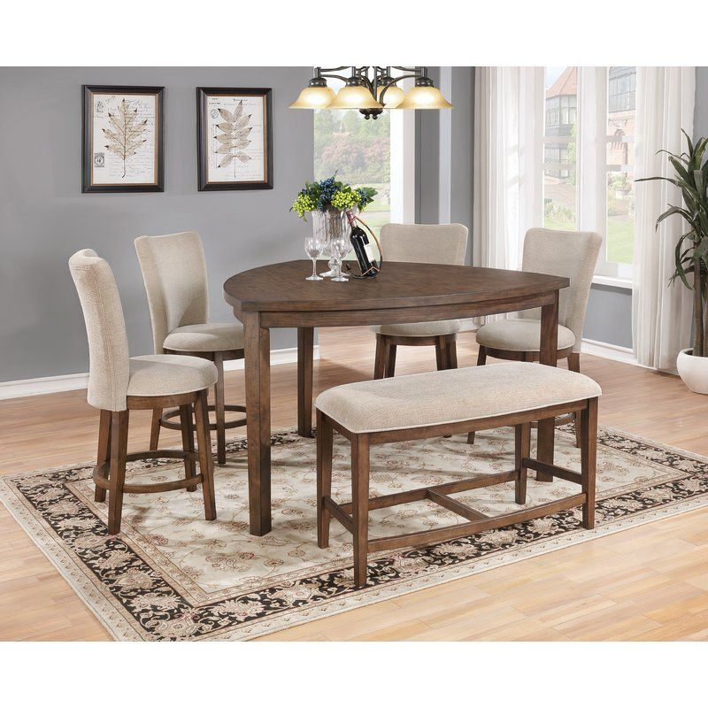 Bloomsbury Market Bucknell Counter Height Dining Table Reviews