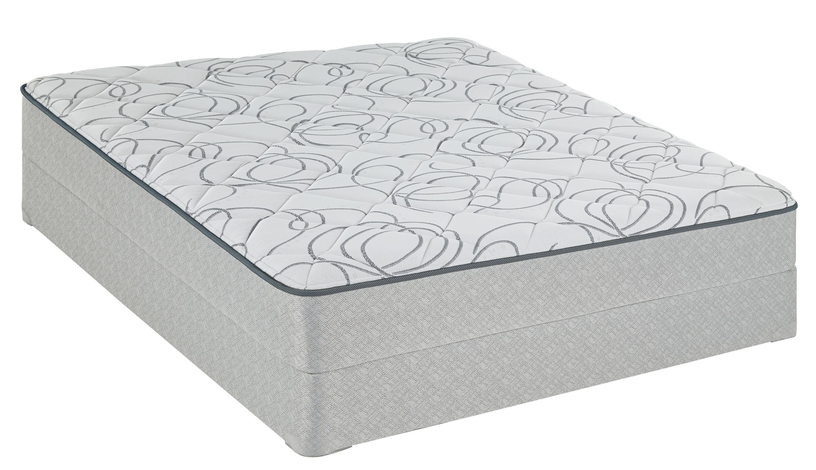 Sealy 51208051 Belcarro Firm Queen Mattress Only King Size