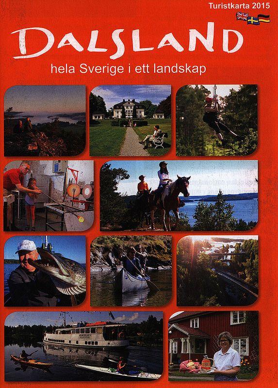Dalsland Hela Sverige I Ett Landskap Turistkarta 2015 Vastra Gotaland Sweden Carte Postale Postale Cartes