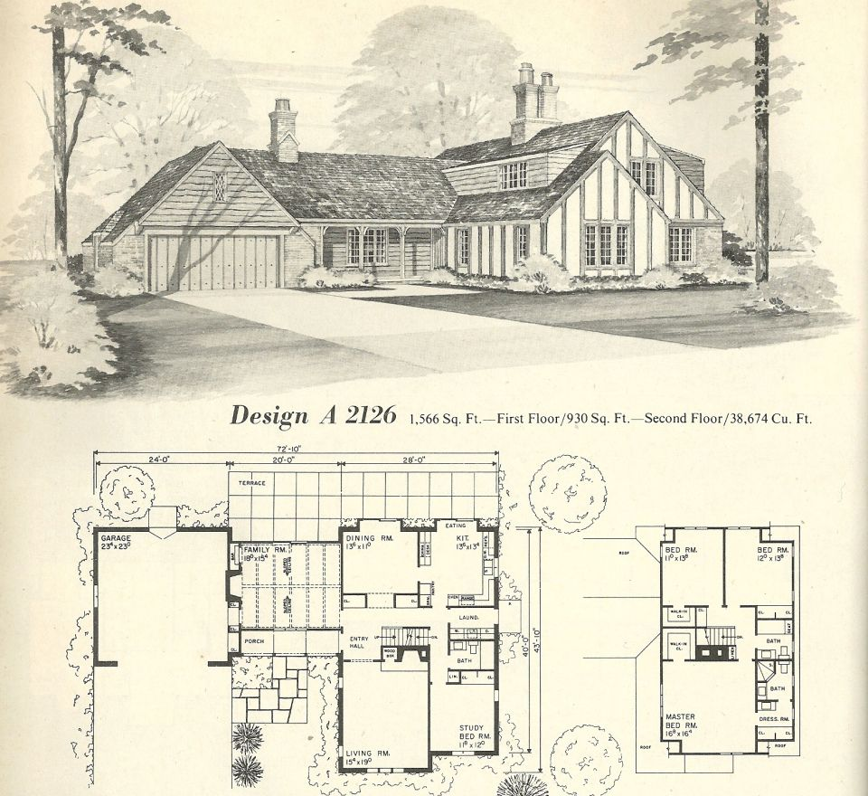 Vintage House Plans 2126 Vintage House Plans House Plans With Photos Cottage House Plans